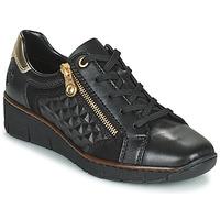 Zapatos Mujer Zapatillas bajas Rieker THOMANISA Marino