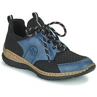 Zapatos Mujer Zapatillas bajas Rieker MEDONNA Azul / Negro