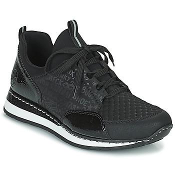Zapatos Mujer Zapatillas bajas Rieker REGARDA Negro