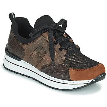 Zapatos Mujer Zapatillas bajas Rieker TEMPORA Marrón