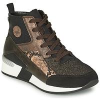 Zapatos Mujer Zapatillas altas Rieker MANKA Negro / Marrón