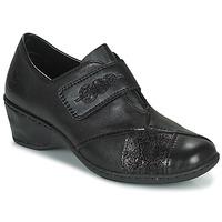 Zapatos Mujer Mocasín Rieker DEVENIRA Negro