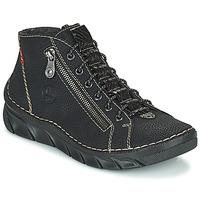 Zapatos Mujer Botas de caña baja Rieker MEMOIRA Negro