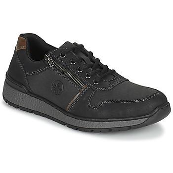 Zapatos Hombre Derbie Rieker FOLLON Negro