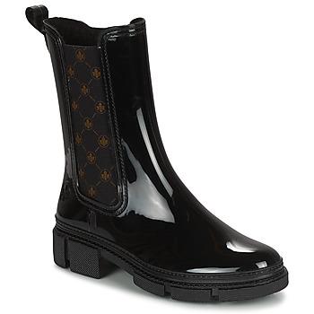 Zapatos Mujer Botas de agua Rieker SHOTTA Negro
