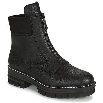 Zapatos Mujer Botas de caña baja Rieker QUAMIN Negro