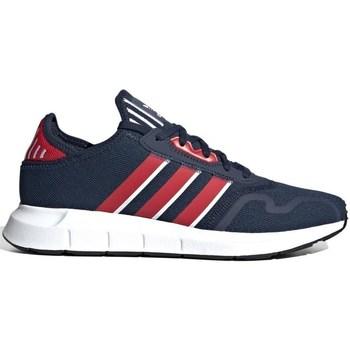 Zapatos Hombre Zapatillas bajas adidas Originals Swift Run X Rojos, Azul marino