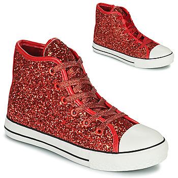 Zapatos Niña Zapatillas altas Citrouille et Compagnie OUTIL Rojo