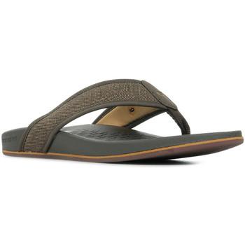 Zapatos Hombre Chanclas Skechers Pelem Belago Marrón
