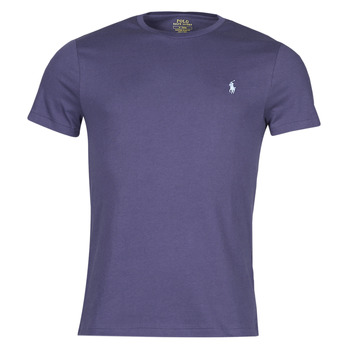 textil Hombre Camisetas manga corta Polo Ralph Lauren OLITA Azul