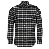 textil Hombre Camisas manga larga Polo Ralph Lauren PERINE Negro
