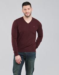 textil Hombre Jerséis Polo Ralph Lauren SOLIMMA Burdeo