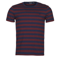 textil Hombre Camisetas manga corta Polo Ralph Lauren POLINE Marino / Burdeo