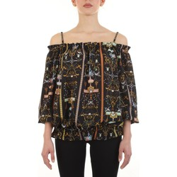 textil Mujer Tops / Blusas Versace Jeans Couture B0HWA623-S0991 Negro