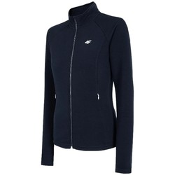 textil Mujer Chaquetas de deporte 4F Women's Sweatshirt Bleu marine