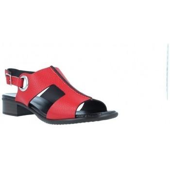 Zapatos Mujer Sandalias Plumers Sandalias Tacón Casual Mujer de  3377 Rojo