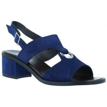 Zapatos Mujer Sandalias Plumers Sandalias Casual con Tacón Mujer de  3370 Azul