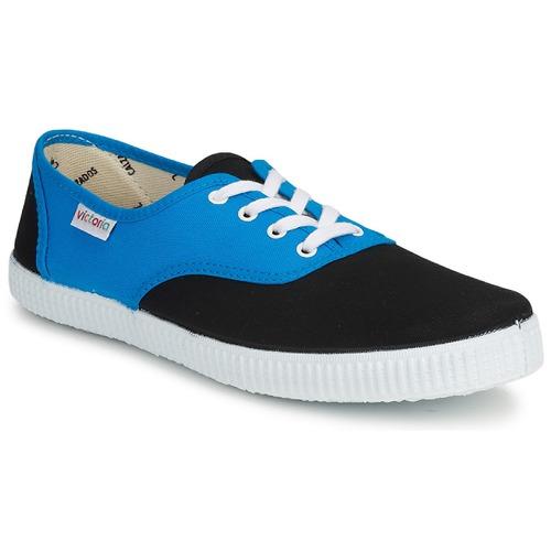 Bajas Inglesa Zapatillas Zapatos Victoria Bicolor AzulNegro 2EDHW9IeY