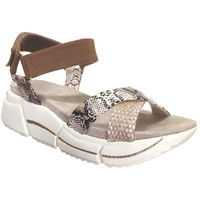 Zapatos Mujer Sandalias Bugatti 431-88181-6969 Beige