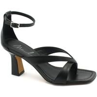 Zapatos Mujer Sandalias Malù Malù MAL-E21-7401-NE Nero