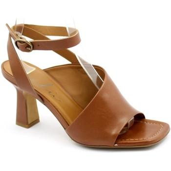 Zapatos Mujer Sandalias Malù Malù MAL-E21-7408-CU Marrone