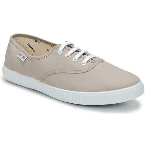 Zapatos Zapatillas bajas Victoria INGLESA LONA Beige