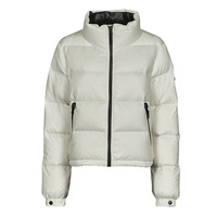 textil Mujer Plumas Superdry ALPINE LUXE DOWN JACKET Blanco