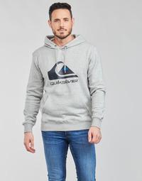 textil Hombre Sudaderas Quiksilver BIG LOGO HOOD Gris
