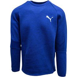 textil Hombre Chaquetas de deporte Puma Evostripe Crew Azul