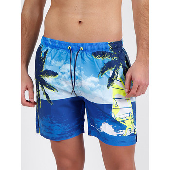 textil Hombre Bañadores Admas For Men Pantalones cortos de baño Admas azules Destination Lois Azul