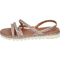Zapatos Mujer Sandalias Femme Plus BJ888 Beige