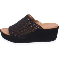 Zapatos Mujer Zuecos (Mules) Femme Plus BJ890 Negro