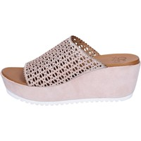 Zapatos Mujer Zuecos (Mules) Femme Plus BJ891 Rosa