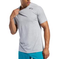 textil Hombre Camisetas manga corta Reebok Sport  Gris
