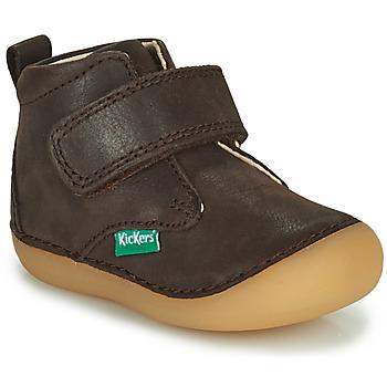 Zapatos Niño Botas de caña baja Kickers SABIO Marrón