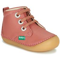 Zapatos Niña Botas de caña baja Kickers SONIZA Rosa