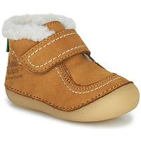 Zapatos Niña Botas de caña baja Kickers SOMOONS Camel