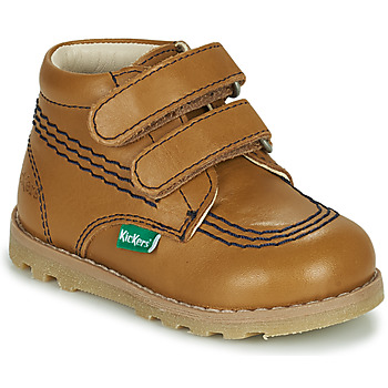 Zapatos Niños Botas de caña baja Kickers NONOMATIC Camel
