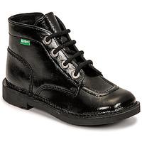 Zapatos Niña Botas de caña baja Kickers KICK COLZ Negro
