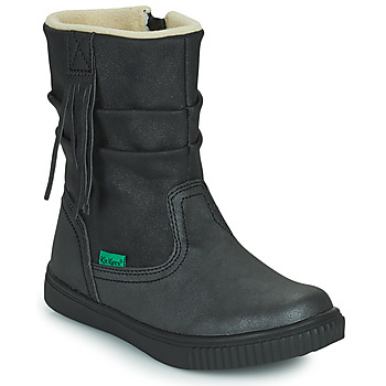 Zapatos Niña Botas de caña baja Kickers RUMBY Negro