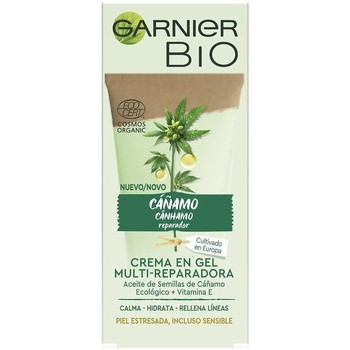 Belleza Mujer Hidratantes & nutritivos Garnier Bio Ecocert Cáñamo Crema-gel Multi-reparadora  50 ml