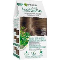 Belleza Mujer Tratamiento capilar Garnier Herbalia Color 100% Vegetal castaño Chocolate 1 u