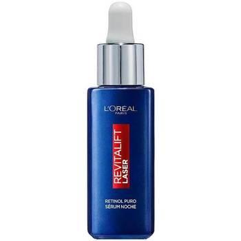 Belleza Mujer Antiedad & antiarrugas L'oréal Revitalift Laser Retinol Puro Serum Noche  30 ml