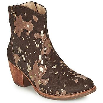 Zapatos Mujer Botines Neosens MUNSON Marrón / Oro