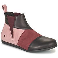 Zapatos Mujer Botas de caña baja Art LARISSA Violeta / Negro