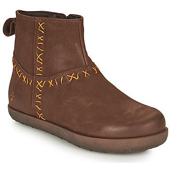Zapatos Mujer Botas de caña baja Art RHODES Marrón