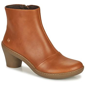 Zapatos Mujer Botines Art ALFAMA Marrón