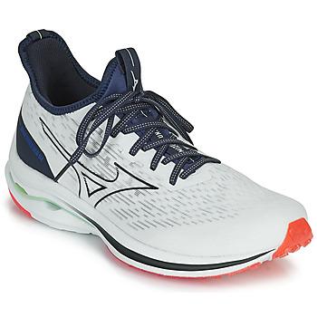Zapatos Hombre Running / trail Mizuno WAVE RIDER NEO Blanco / Azul