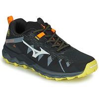 Zapatos Hombre Running / trail Mizuno WAVE DAICHI 4 Negro / Naranja