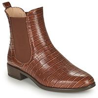 Zapatos Mujer Botas de caña baja Unisa BOYER Camel